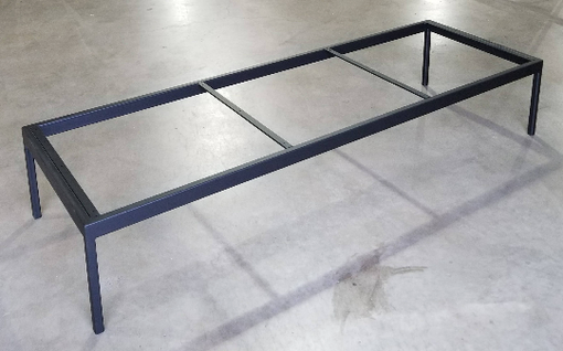 Custom Made Metal Bench Base