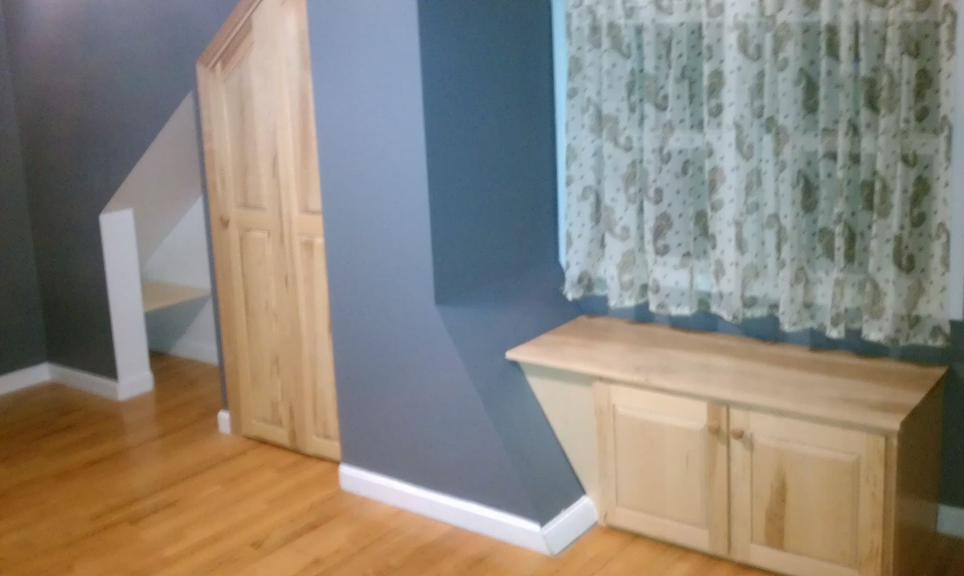 Handmade Custom Closet & Window Seat by V S F Interiors