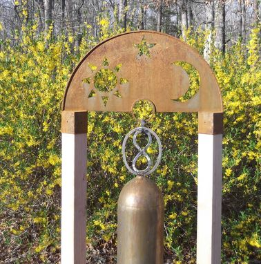 Custom Made Large Garden Bell Or Gong