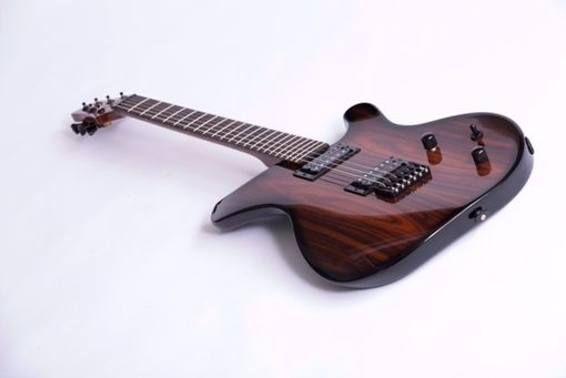 Custom Made Santos Palisander Topped Sinuous Guitar