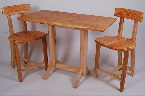 Custom Made Three Piece Dinette Set
