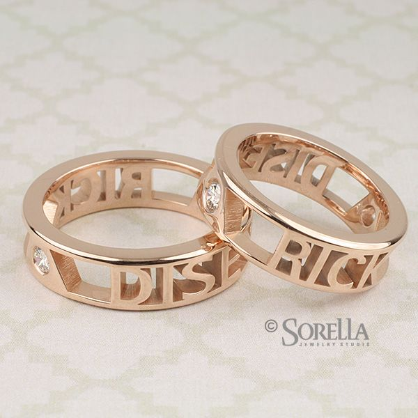 com nameplatedepot ring gold heart personalized women rings views at with name htm alternative p