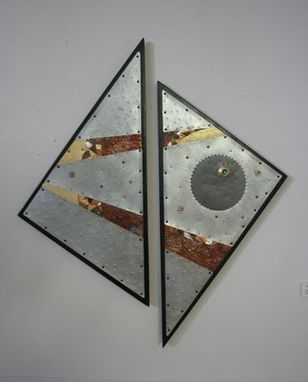 Custom Made Metal Mosaic Wall Art