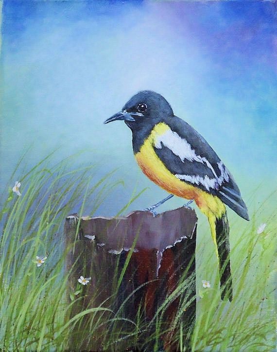 Birds On The Wall – Acrylic Painting Lesson | Tim Gagnon ...  |Bird Painting Acrylic