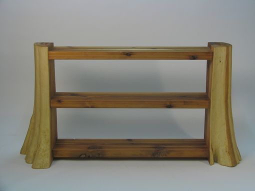 Custom Made Cedar Bookshelf