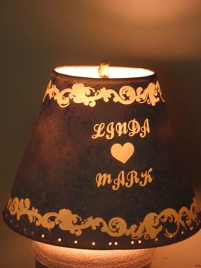 Custom Made Handmade Personalized  Table Lamp ,Best Wedding Gift,Unique.