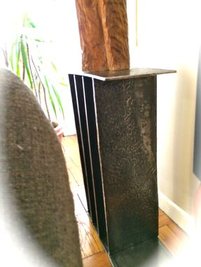 Custom Made Bauhaus-Style Art Pedestal