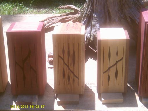 Custom Made Handmade Wooden Tongue Drums
