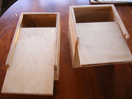Custom Made Slide Top Boxes
