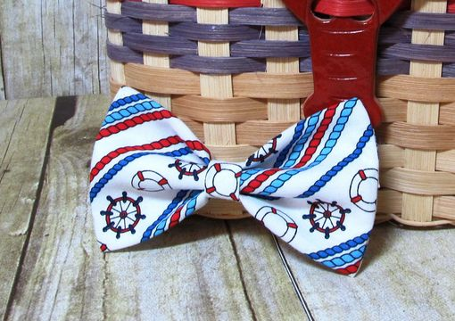 Custom Made Nautical Ropes Bow Tie