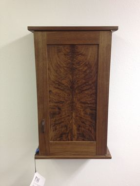 "Custom Made For Sale - ""Dark Timber"" - Krenovian Brandy And/Or Whiskey Cabinet"