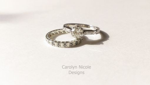 Custom Made Antique Engagement Ring