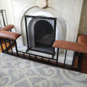 Custom Fireplace Doors Amp Screens Fireplace Set
