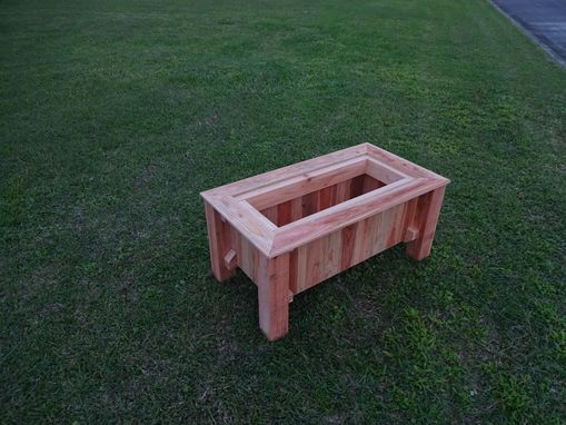 Custom Made Canadian Cedar Planter Boxes