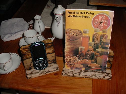 Custom Made Cell Phone Or Note Pad Recipe Holde