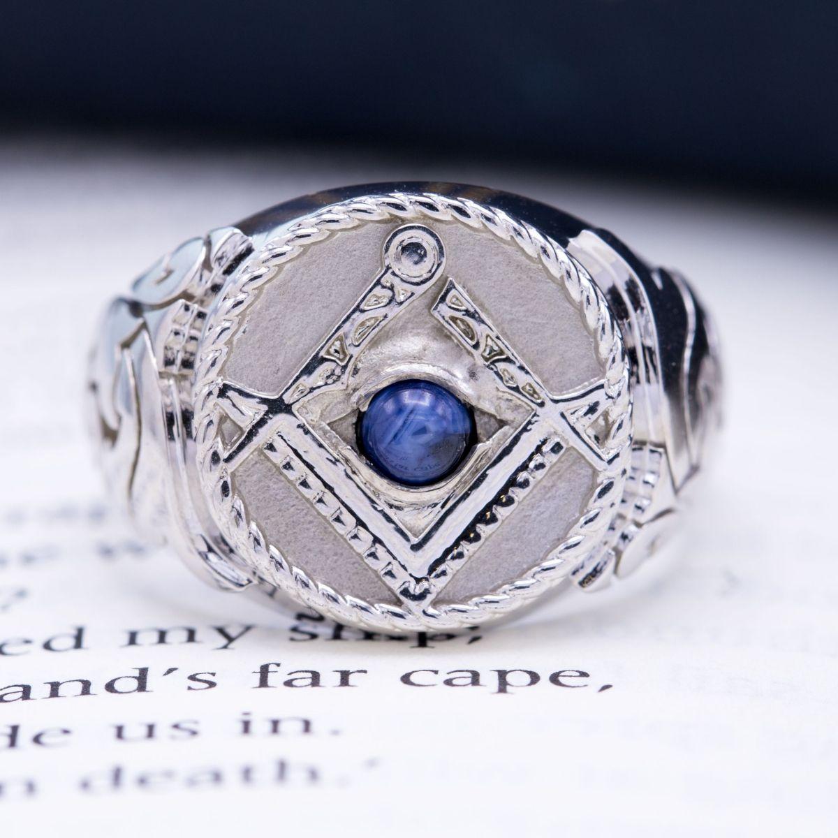 Custom Masonic Rings | Design Your Own Freemason Ring