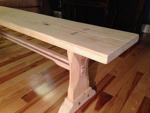 Custom Farm Table Bench By Feicht Amp Co Custommade Com