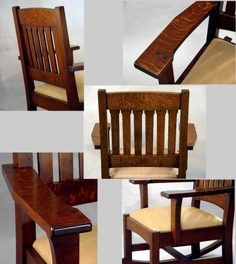 Custom Made Cottage Rocker