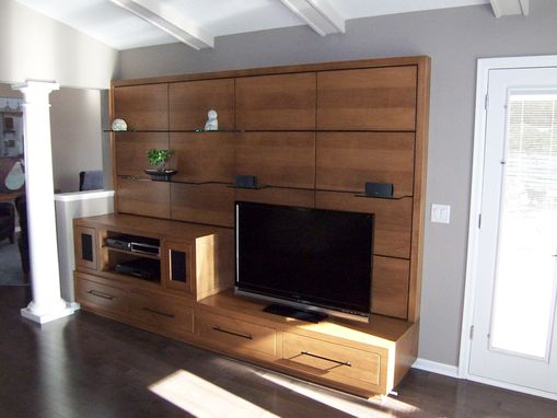 Custom Made Euro Style Entertainment Center