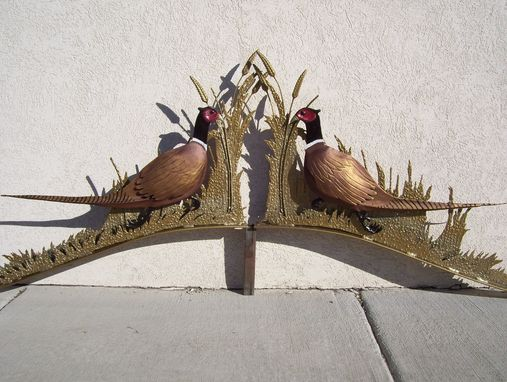 Custom Made Pheasant Gate Tops