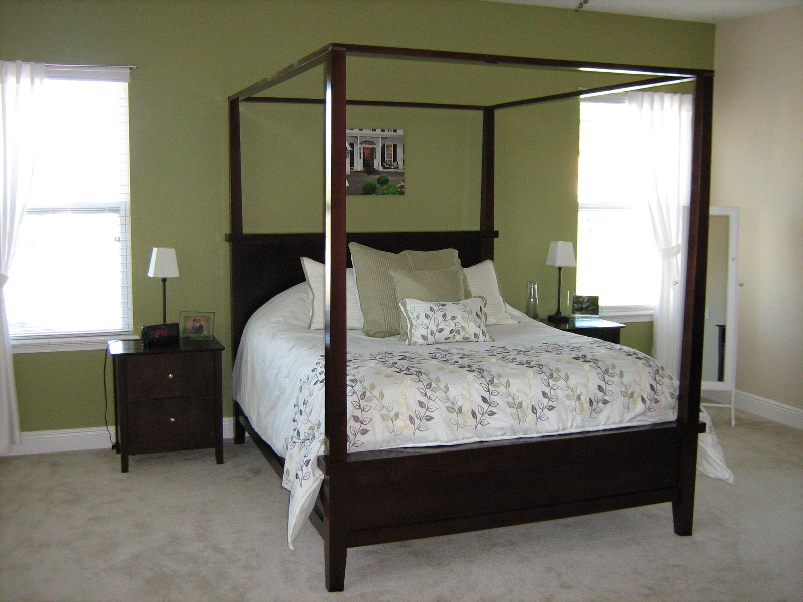 Custom Canopy Bed custom made canopy beddon laporte fine woodworking
