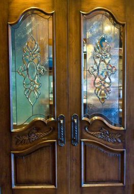 Custom Made Custom Hand Carved Interior Doors