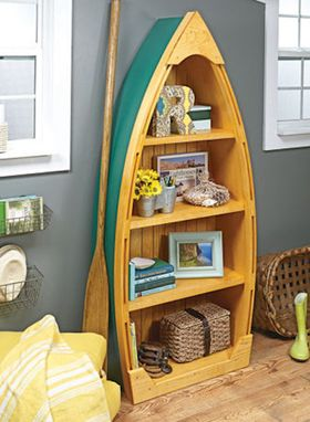 Custom Made Costal Style , Boat Bookcase