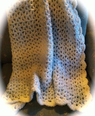 Custom Made Custom Crocheted Baby/Child Afghan/Blanket