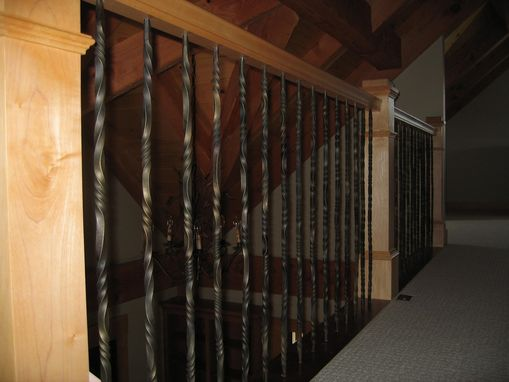Custom Made Stair Railing  Balusters