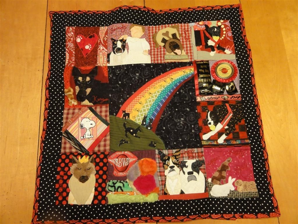 Hand Crafted Pet Memorial Quilt (Multiple Animal)- Large Beloved ...