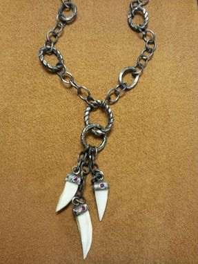 Custom Made Wild Hog Tusk Necklace