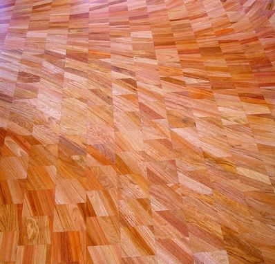Custom Made Flow Pattern Flooring By Thomas Schrunk