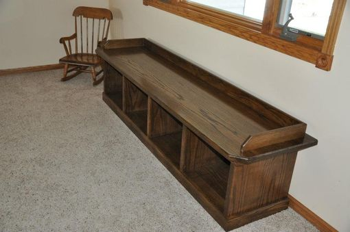 Custom Made Hallway Bench