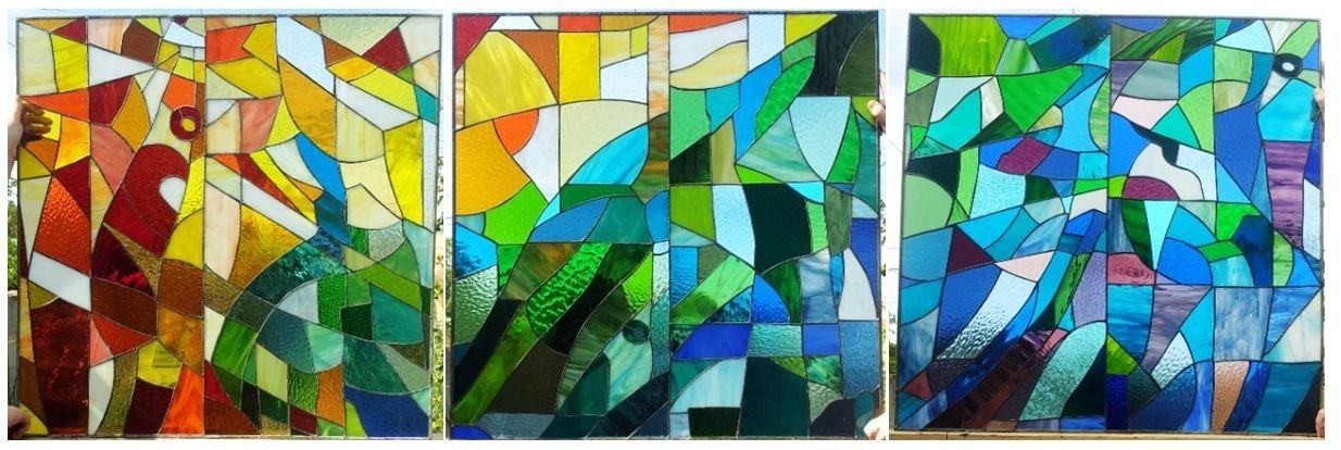 Custom Stained Glass Set Of Windows - Inspired By The Sagrada ...