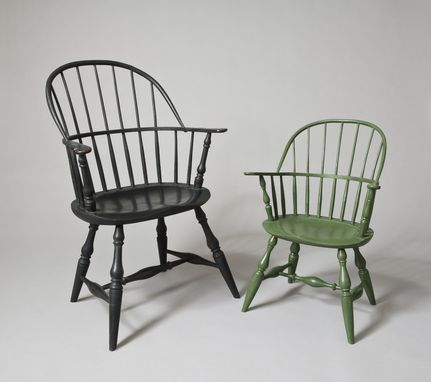 Custom Made Sack Back Windsor Chair