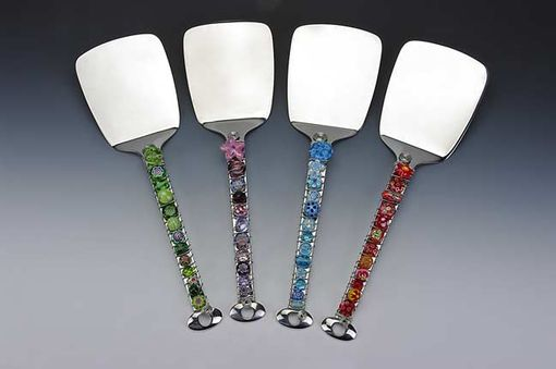 Custom Made Hand Beaded Serving Spatula