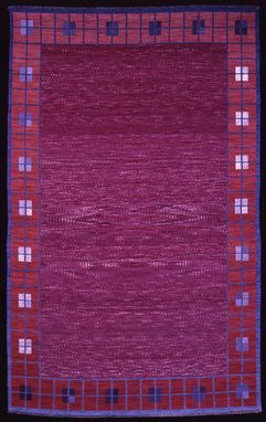 Custom Made Rug: Idyll (Hand-Woven With Hand-Dyed Wool)