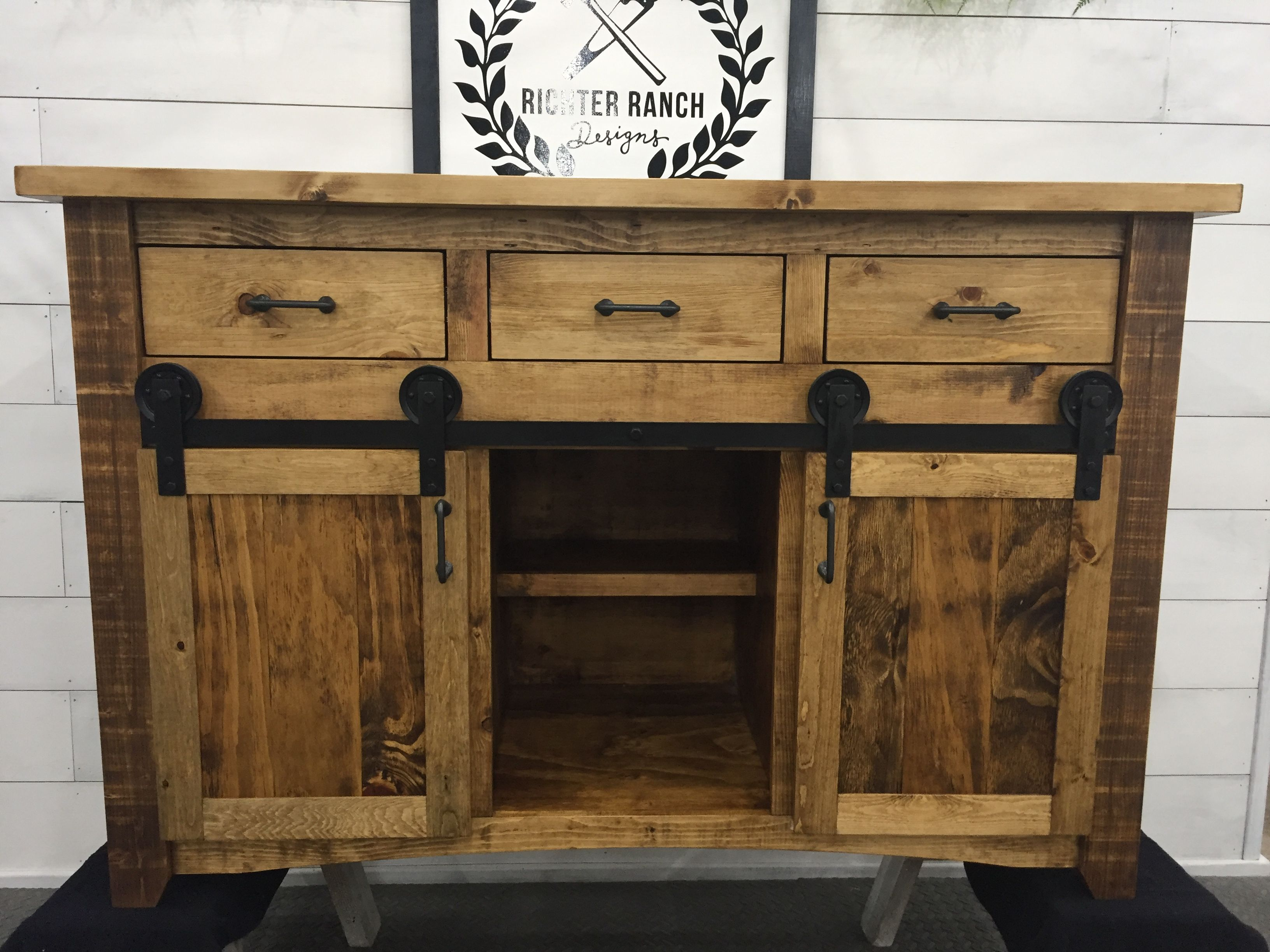 hand crafted rustic kitchen islandrichter ranch designs | custommade