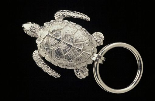 Custom Made Sea Turtle Key Ring