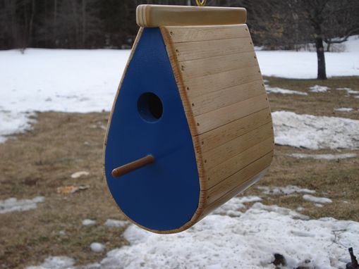 Custom Made Tear Drop Bird House