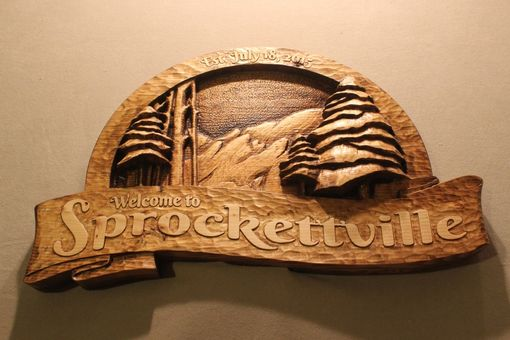Custom Made Custom Carved Handmade Wood Signs | Home Signs | Cabin Signs | Mountain Signs