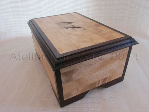 Custom Made Josef's Baptism Box