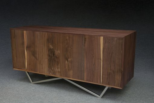 Custom Made Wave Credenza