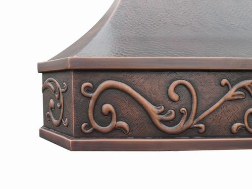 Custom Made Celtic Range Hood 48""