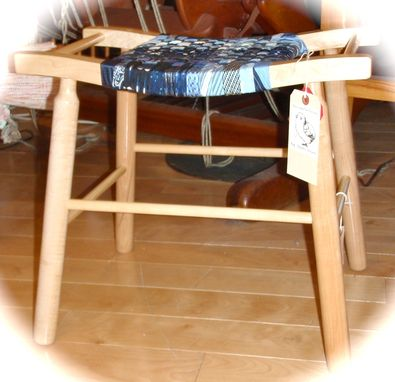 Custom Made Saddle Stool