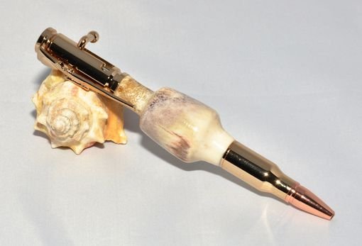 Custom Made Bolt Action Antler Pens