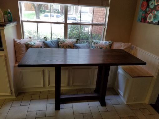 Custom Made Breakfast Nook Table