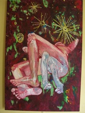 "Custom Made Original Painting: ""Deep Legs"""