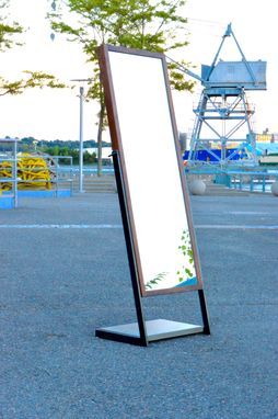 Custom Made Lean Full Mirror By Cauv Design