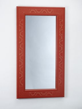 Custom Made Large Carved Mirror